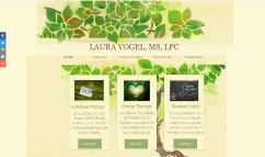 Laura Vogel, LPC website