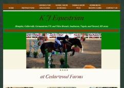 K-J Equestrian website